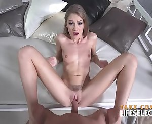 Beauty pageant judge fucks all the girl in POV