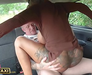 Female Fake Taxi The cracked dick assfuck test fuck