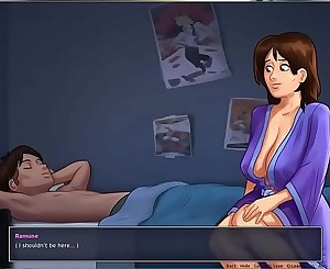 Mom Goes To Son s Bedroom toon