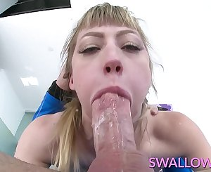 Gulped Face fucking petite blonde Ivy Wolfe