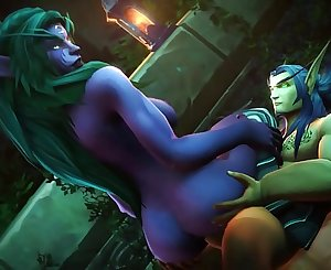 World of Warcraft Porn Compilation Best of 2018 Humans, Elfs, Orcs & Draenei - Straight Only
